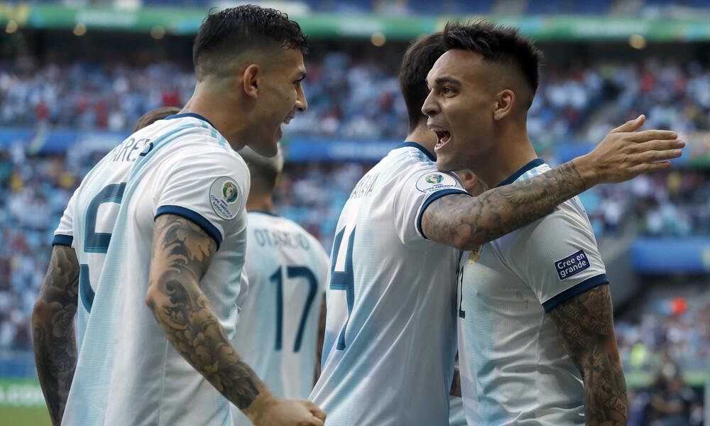 Copa America: Ζορίστηκε αλλά προκρίθηκε η Αργεντινή (videos)