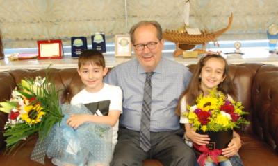 Επίσκεψη από τον εγγονό του, παιδιά, αλλά και από Βασιλόπουλο, σήμερα σε Νίκα! (photos) 18