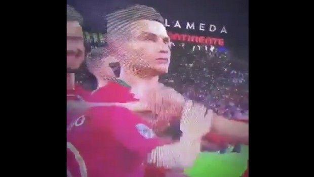Ο Κριστιάνο δεν χάρηκε με την ανάδειξη του Μπερνάντο Σίλβα ως MVP (video)