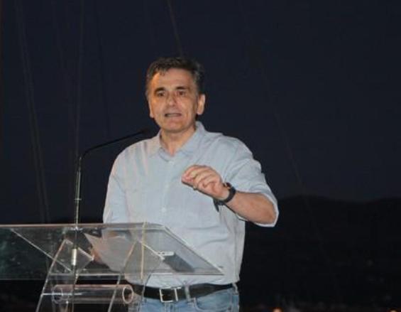 Με επιτυχία η ομιλία Τσακαλώτου, στην Παραλία της Καλαμάτας