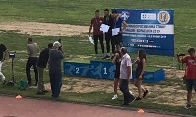 Ασημένιος Πανελληνιονίκης ο Βασιλογιαννακόπουλος στο Πανελλήνιο Πρωτάθλημα Παίδων/ Κορασίδων, 4ος ο Ζαχαρέας 9