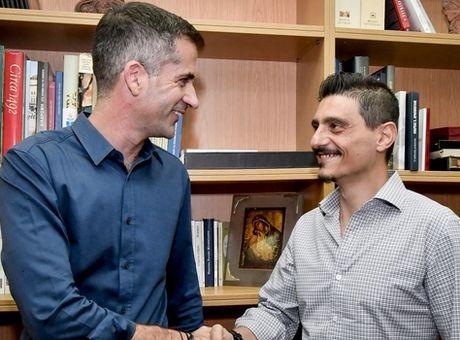 Συμφωνία Μπακογιάννη – Γιαννακόπουλου για τον Βοτανικό (photos+video)