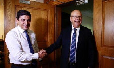 """Βασιλακόπουλος σε Αυγενάκη: """"Πρέπει να μείνει στην Α1 ο Ολυμπιακός"""" (photos) 14"""
