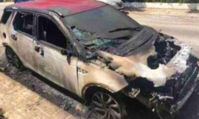 ΣΟΚ με το καμένο αυτοκίνητο του Δρόσου.... 14