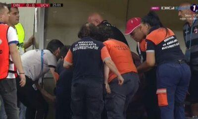 Ο προπονητής της Ντιναμό Βουκουρεστίου υπέστη έμφραγμα στον πάγκο! (+video) 6