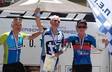 Μυστριώτης και Σταμάτης του Ευκλή έτρεξαν στον ποδηλατικό Γύρο Τρίπολης 7