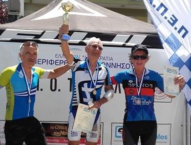 Μυστριώτης και Σταμάτης του Ευκλή έτρεξαν στον ποδηλατικό Γύρο Τρίπολης