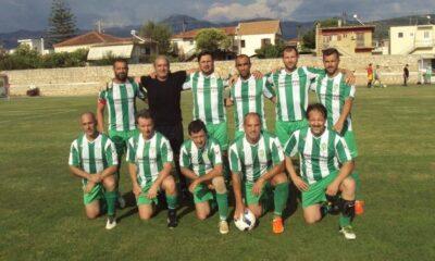Η Εράνη Φιλιατρών τον πρώτο λόγο στο πρωτάθλημα Παλαιμάχων της ΕΠΣΜ 6
