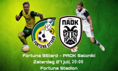 LIVE STREAMING: Fortuna Sittard - ΠΑΟΚ 6