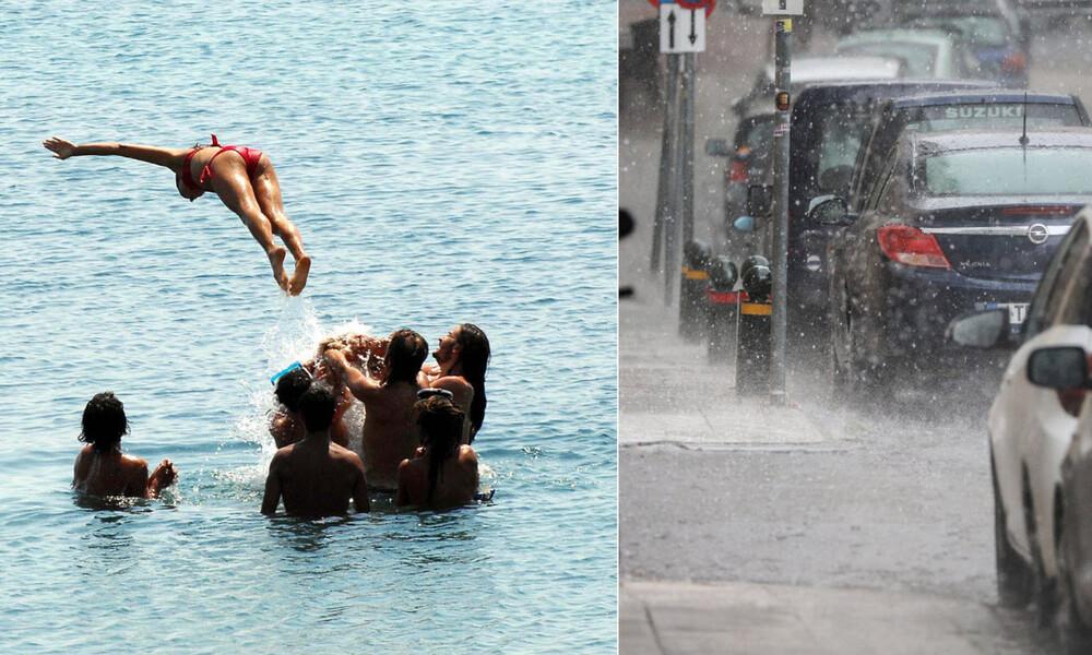 Θα μας τρελάνει ο καιρός: Με καύσωνα και χαλάζι η Τετάρτη – Πού θα σημειωθούν τα φαινόμενα (pics)