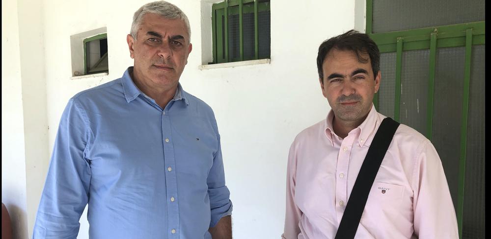 Στην Καλαμάτα ο Βούζας – επιθεώρηση με τεχνική εταιρεία στο ΜΓΣ (photos)