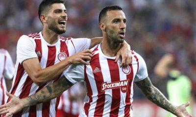 """Ολυμπιακός - Πλζεν 4-0: """"Διέλυσε"""" τους Τσέχους με μπαλάρα 6"""