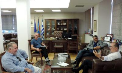 Σύσκεψη στο Δημαρχείο για το Στάδιο 18