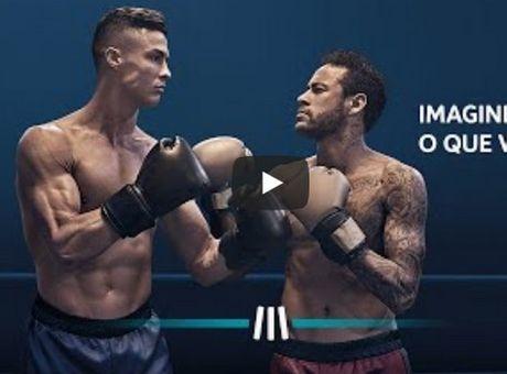 Ρονάλντο και Νεϊμάρ παλεύουν σε ρινγκ σε σούπερ διαφημιστικό σποτ! (+video)