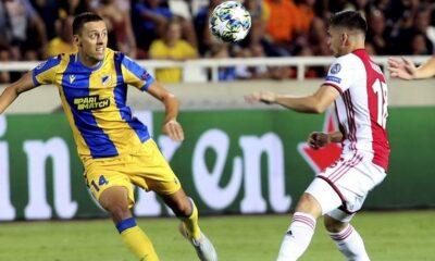 "Playoffs Champions League: ""Λιοντάρι"" ο ΑΠΟΕΛ, 0-0 με Άγιαξ και ελπίζει 8"