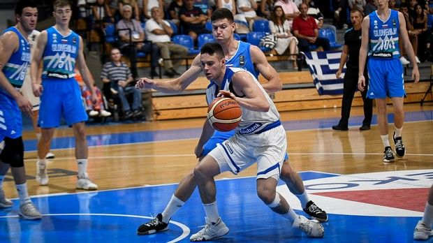 "EuroBasket U18: ""Αδειασε"" η Ελλάδα, τρίτη η Σλοβενία"