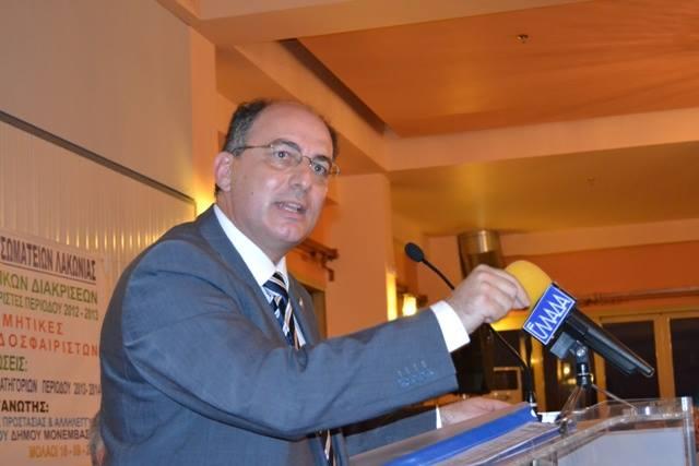 """Αποκάλυψη: Δυνατή κίνηση για την ΕΠΣ Λακωνίας, """"πέφτει"""" ο Τάκης Καρράς…"""