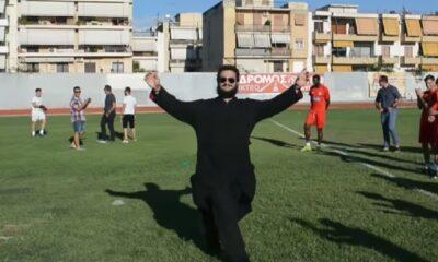 Αγιασμός στο Ναύπλιο, πάλι με τον... παπά! (video) 6