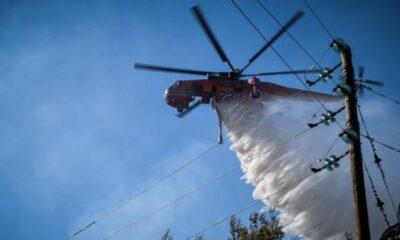 """Στο """"κόκκινο"""" και σήμερα η χώρα για φωτιές - Σε γενικό συναγερμό οι αρχές 6"""