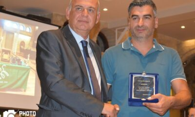 Η ΕΠΣ Χαλκιδικής τίμησε την Τρίγλια για την άνοδο 6
