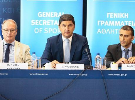 """Αυγενάκης: """"Το VAR το πληρώνει ο Ελληνικός λαός"""" (photos) ! Απίστευτο…"""