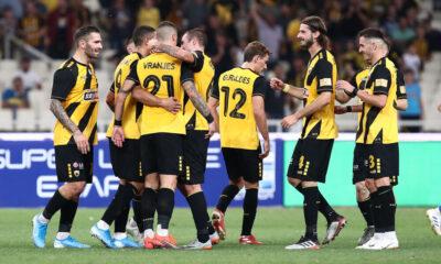 ΑΕΚ - Λαμία 2-0: Τα γκολ και οι καλύτερες φάσεις (video) 16