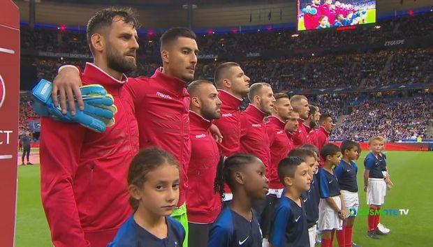 Οι Γάλλοι μπέρδεψαν τον ύμνο της Αλβανίας! (+video)