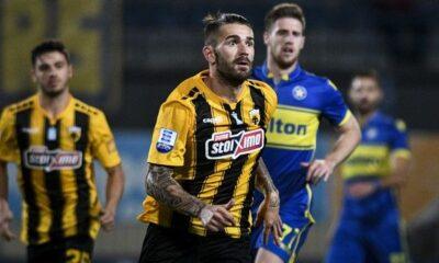 Αστέρας Τρίπολης - ΑΕΚ 2-3: Τα γκολ και οι καλύτερες φάσεις (video) 6
