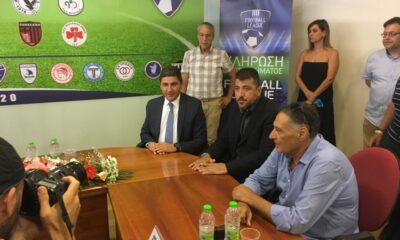 Έκτακτο: Ανοίγει ξανά το θέμα της Β' Εθνικής ο Αυγενάκης... 12