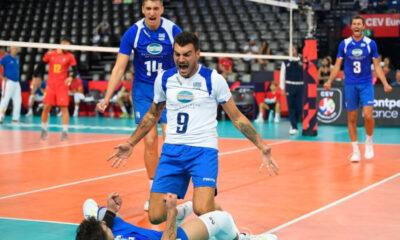 Ευρωπαϊκό ανδρών: Έβγαλε πάθος η Εθνική, 3-1 σετ την Ρουμανία και πρώτη νίκη στο Μονπελιέ 8