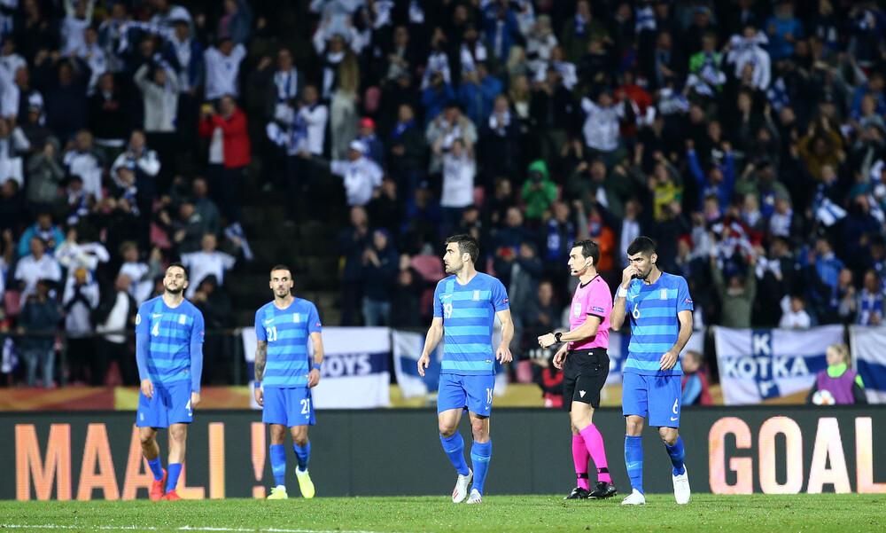 Φινλανδία-Ελλάδα 1-0: Εκτός τελικών σε τρίτη συνεχόμενη διοργάνωση (+video)