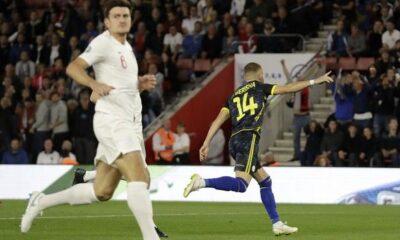 Προκριματικά Euro 2020: Γκάφα για Αγγλία, δέχτηκε γκολ στα 35''! (video) 10