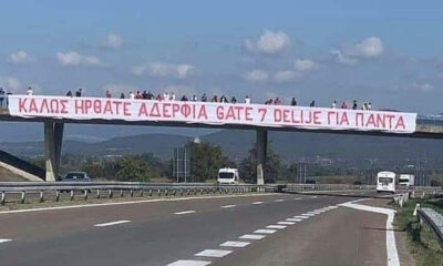Ερυθρός Αστέρας – Ολυμπιακός: Τρομερή υποδοχή στο Βελιγράδι! (video+photos) 17