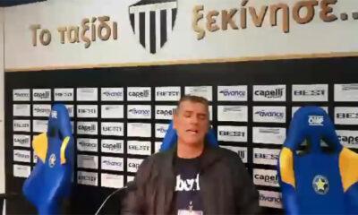 """Ο Γεωργούντζος ξεσπά από την Τρίπολη : """"Τρέμε τώρα Αιγάλεω""""! (video) 20"""