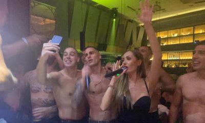 ΑΕΚ: Χόρευαν και έβριζαν Ολυμπιακό στο πάρτι του Βράνιες! (+video) 13