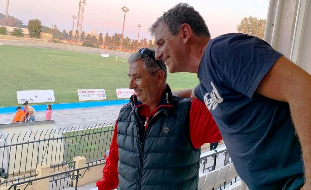 """Συνάντηση σε Ρόδο με Ανδρέα Τσακμακίδη: """"Διαγόρας, Μαύρη Θύελλα και Ολυμπιακός""""! (photos)"""