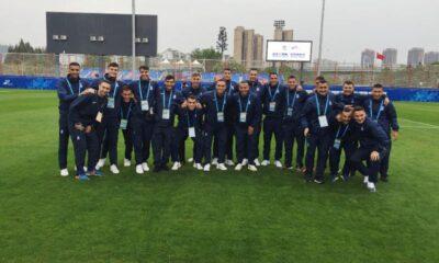 Πρόκριση στους «8» για την Εθνική Ομάδα Ποδοσφαίρου Ανδρών Ενόπλων Δυνάμεων Ελλάδας 8