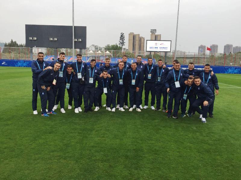 Πρόκριση στους «8» για την Εθνική Ομάδα Ποδοσφαίρου Ανδρών Ενόπλων Δυνάμεων Ελλάδας