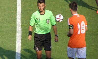 Διαιτητές Football League: O Κουκουλάς από Λέσβο στην Παραλία 8
