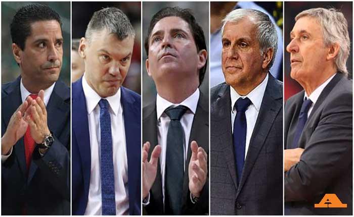 Ευρωλίγκα: Οι προπονητές που χάθηκαν στον χρόνο!