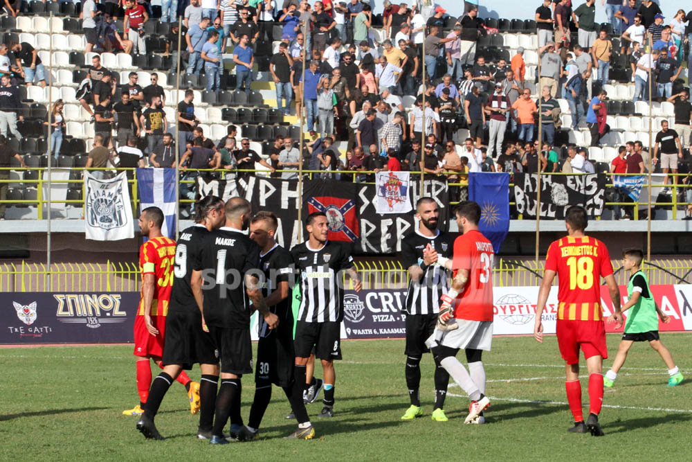 Καλαμάτα – Ιάλυσος 2-0: Το δύο στα δύο η Μαύρη Θύελλα και μόνη πρώτη! (photos)