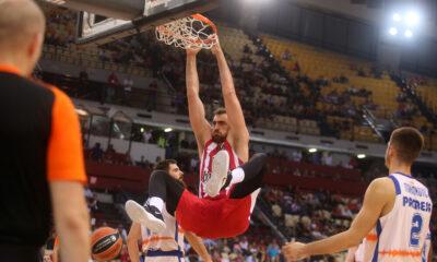 Ολυμπιακός - Βαλένθια 89-63: Highlights (video) 12