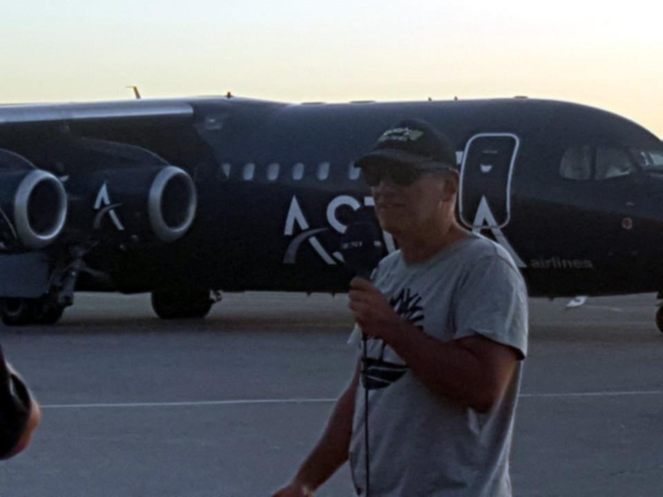 Υποδοχή της αποστολής του ΠΑΟΚ στην Καλαμάτα (photos+video)