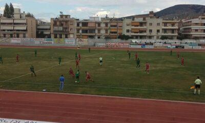 Ναύπλιο - ΠΑΟ Βάρδας 1-0: Η μπάλα ήταν με το Ναύπλιο! 10