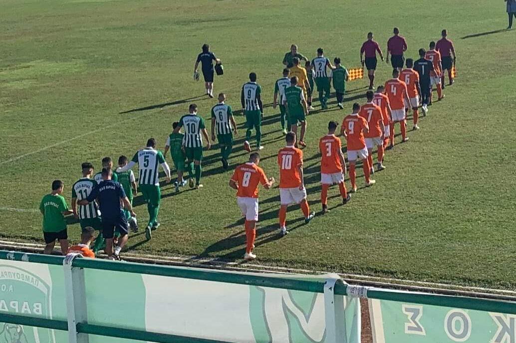 Βάρδα – Παναργειακός 1-1: Με 9 παίκτες για ένα ημίχρονο ο Παναργειακός!