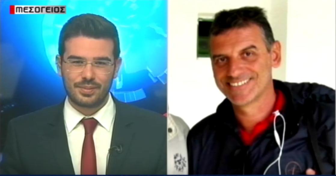 """Ο Σωτήρης σε """"Μεσόγειος tv"""": """"Αυτός είναι ο νέος προπονητής της Καλαμάτας…""""! (video)"""