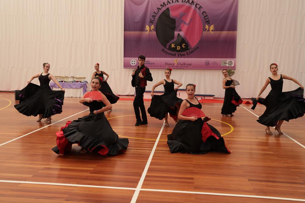 Περισσότεροι από 600 χορευτές στο 2ο Kalamata Dance Cup