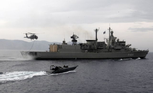 Ασπίδα προστασίας στο Αιγαίο με τεθωρακισμένα και drones