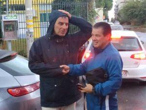 """Η αναχώρηση του Ολυμπιακού Βόλου – Σούλης: """"Μία μέρα θα έρθω στη Μαύρη Θύελλα…""""! (photos)"""