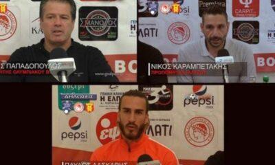 Οι δηλώσεις από το Ολυμπιακός Βόλου- Ιάλυσος! (video) 22